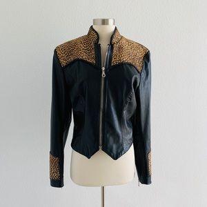 Milwaukee Motorcycle Clothing Co Leather Jacket!